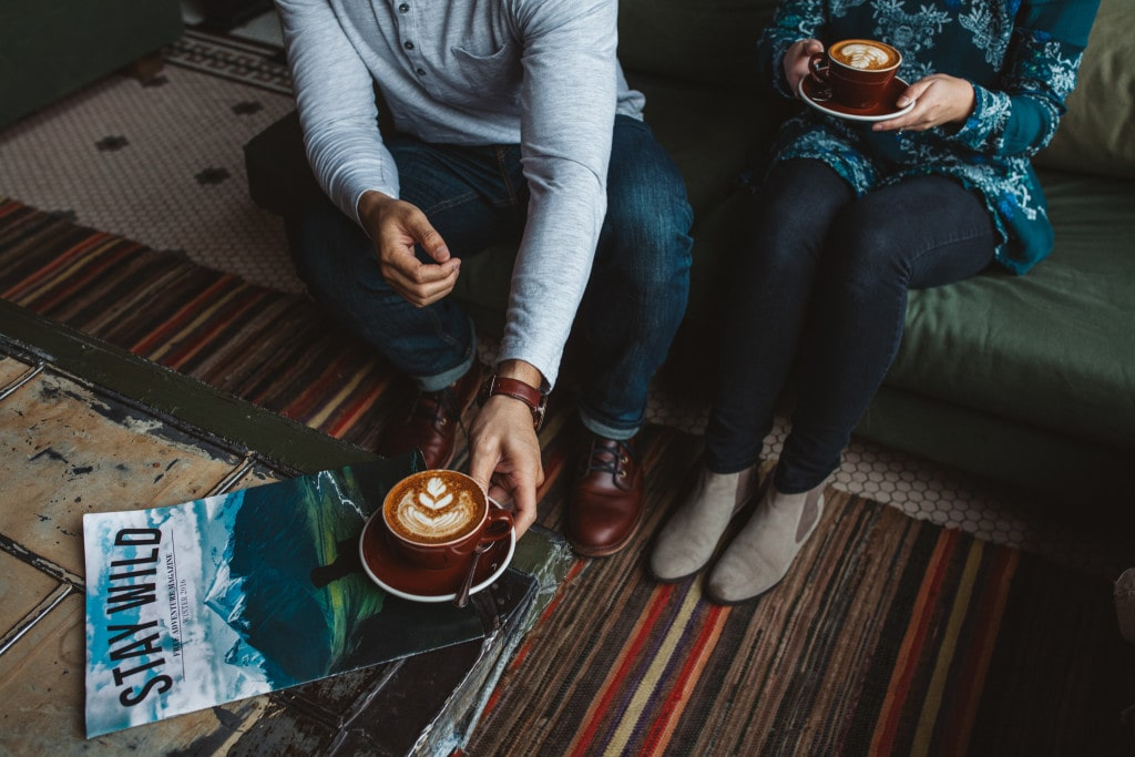 morning coffee reading Stay Wild at the Ace Hotel Anniversary