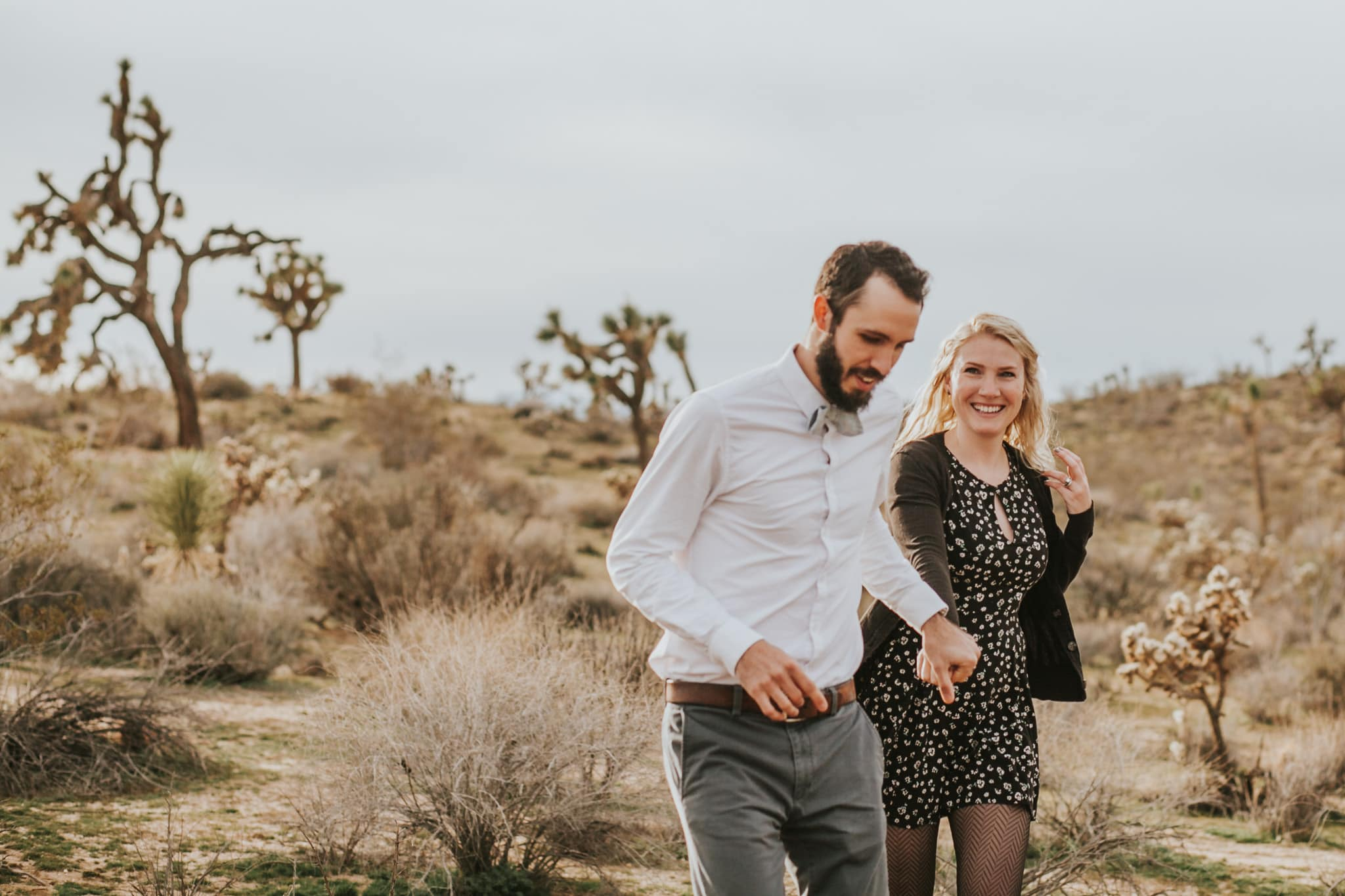 Joshua Tree Desert Engagement Photographer by Marcela Pulido Portland Wedding Photographer