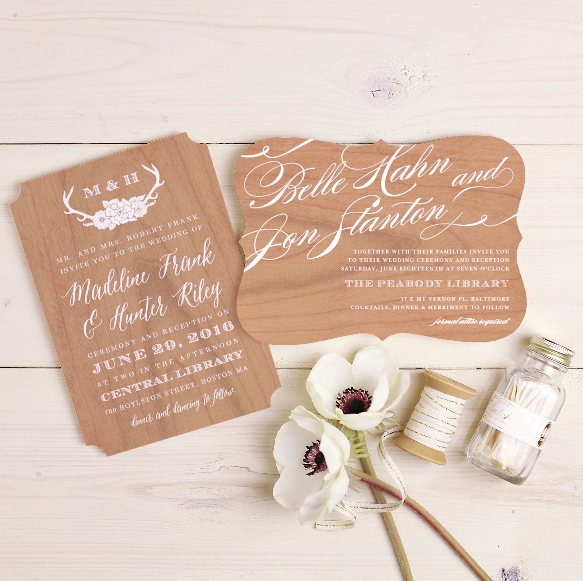 Write Your Own Wedding Invitations: Create Your Own Rustic Barn Wedding Invitations